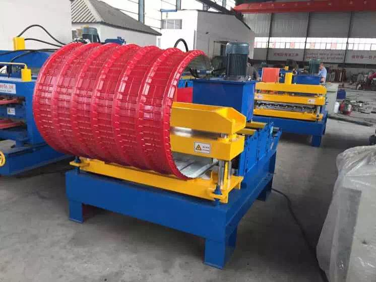 roof crimping curved machine_main
