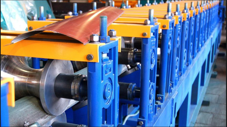 Russian style wall panel roll forming machine
