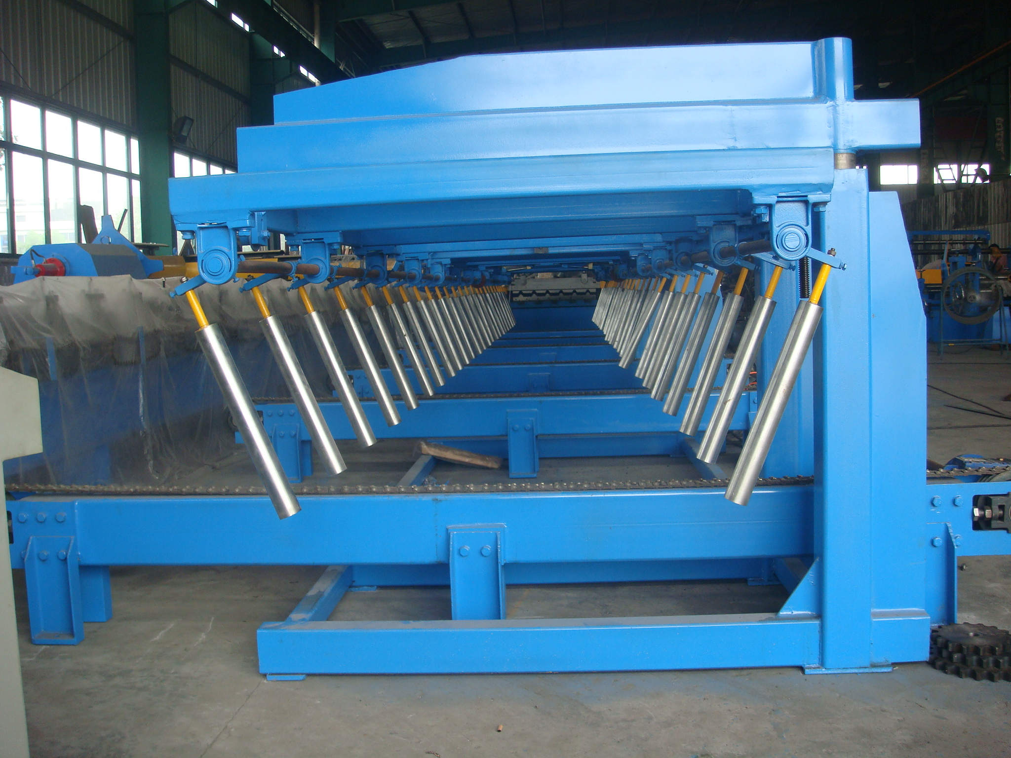 Auto Stacker for Roofing Sheets Roll Forming Machine_details