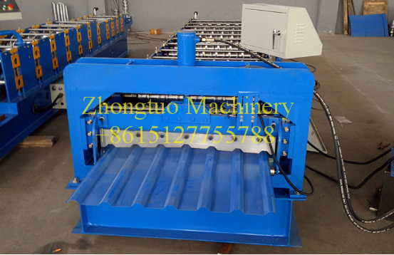 color deck roof sheet making machine