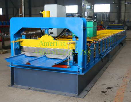 colour lok roof panel roll forming machine