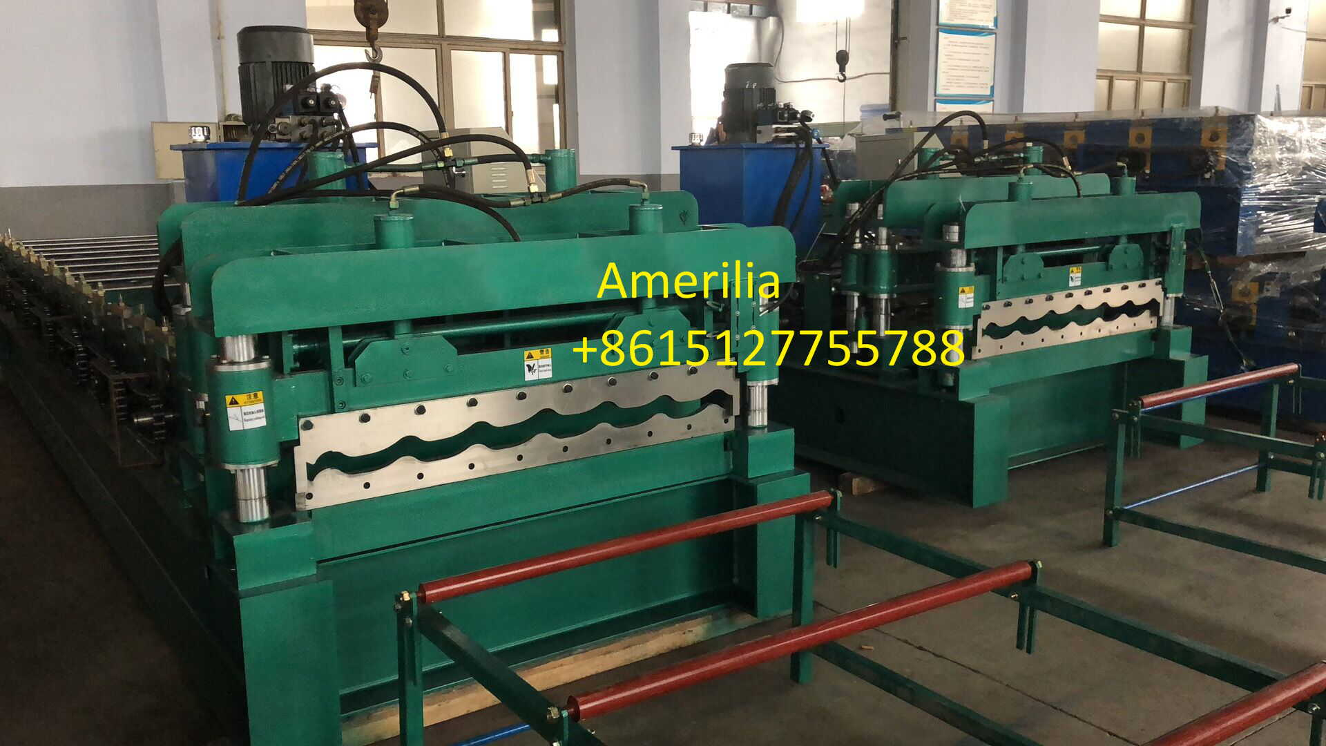 galvanized steel roof tile roll forming machine