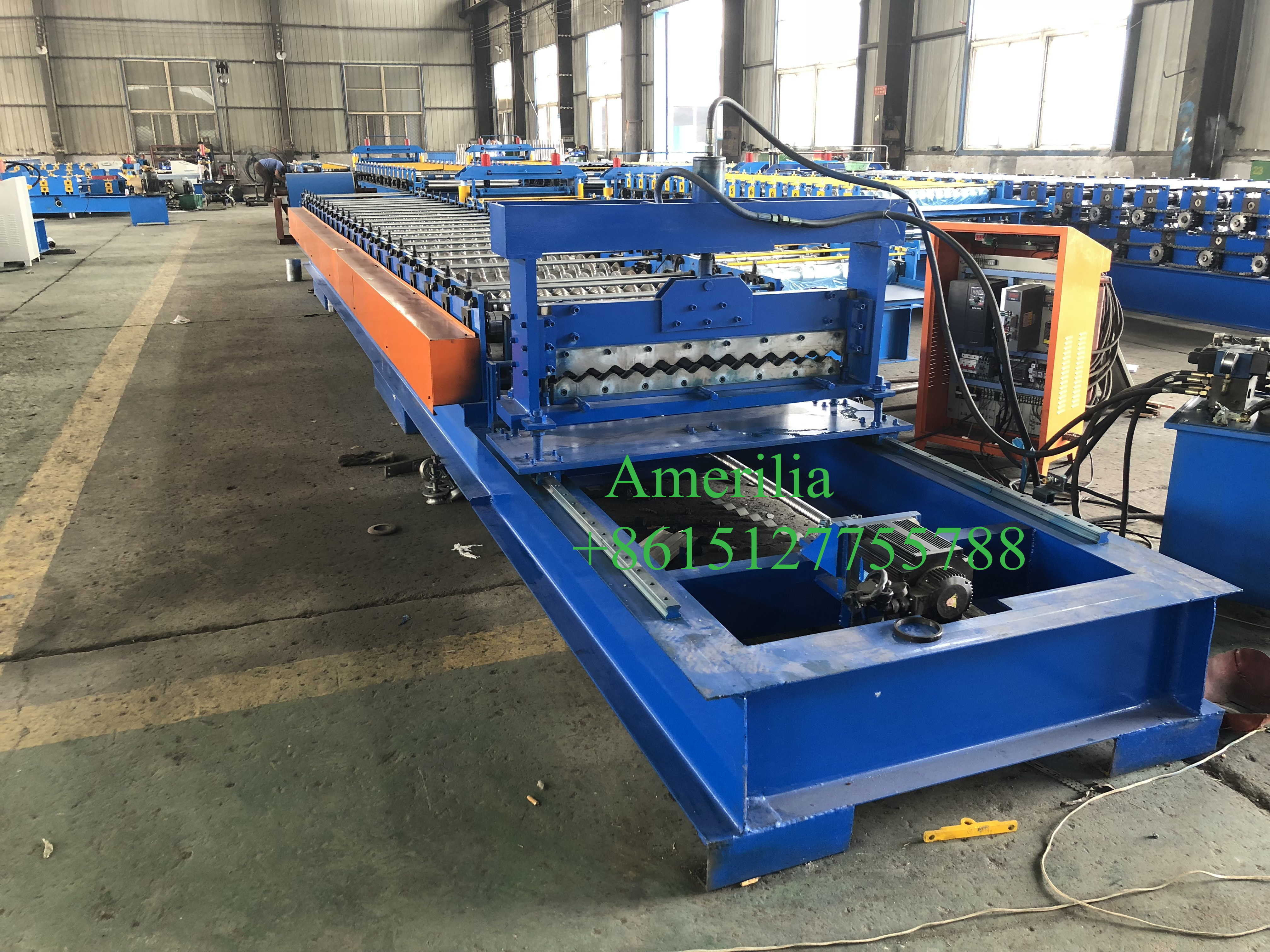 high speed  corrugated  metal sheet making machine
