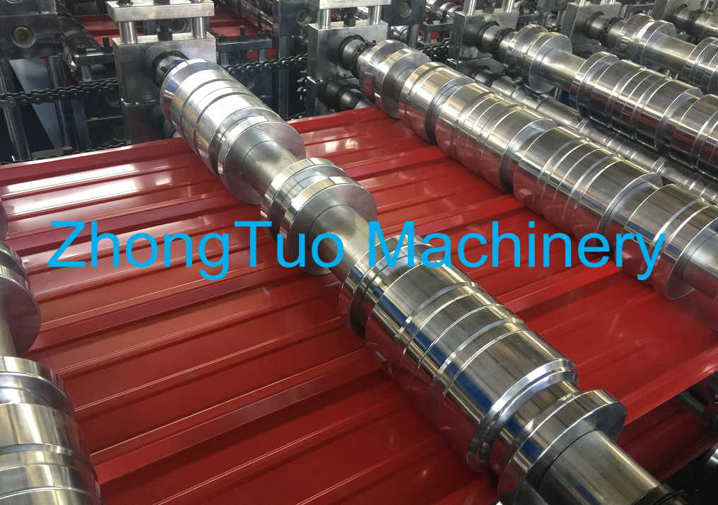 metal sheet making machine