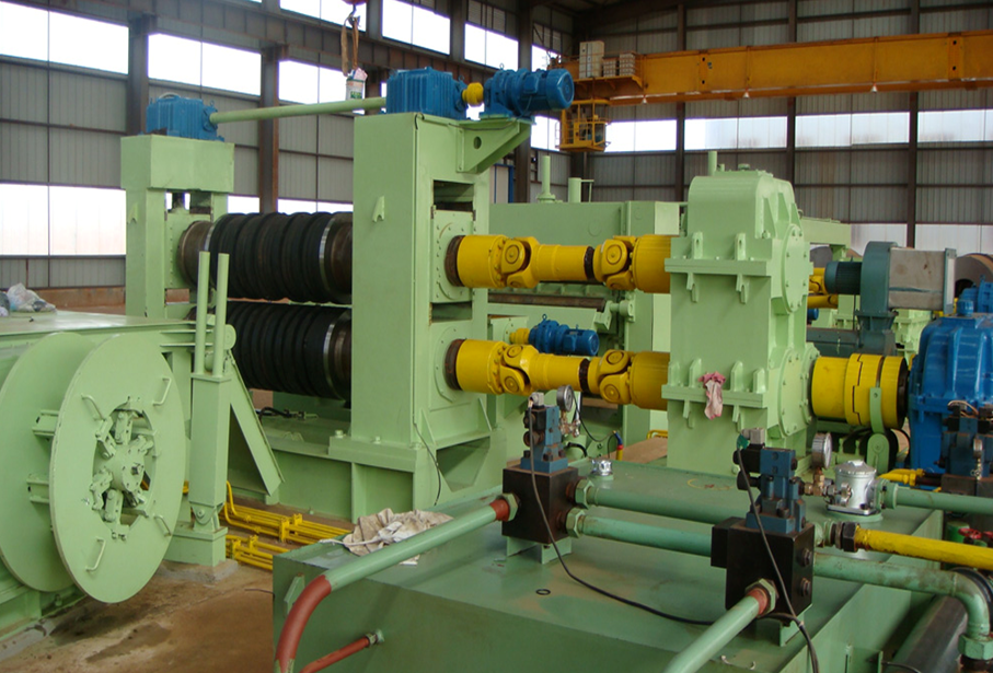 Slitting Production Line_recoiler