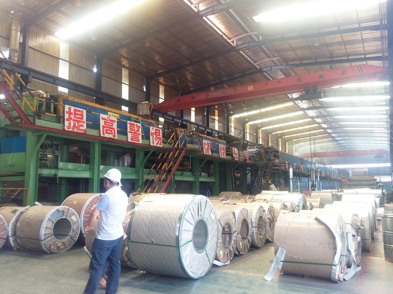 Our learning machine salesman visited ancillary products_color steel production line